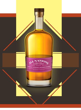 kentuky Straight bourbon