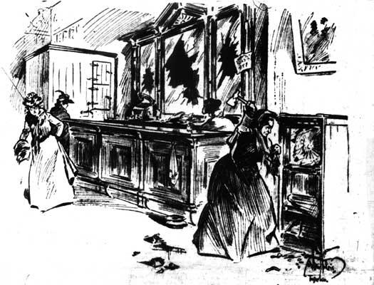 smashing saloon sketch