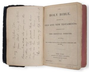 carry nations bible